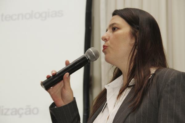 Simone Nogueira na primeira edição do LASE