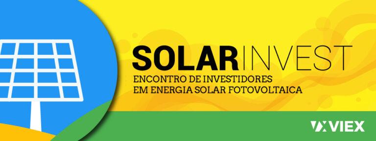 Logo e banner para sistema Prosas (edital eletrobras 2021)Solarinvest - Banner