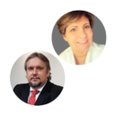 Flávio Linquevis e Erika von Zuben